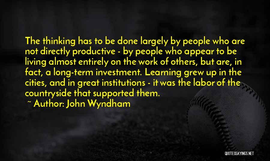 John Wyndham Quotes 1057138