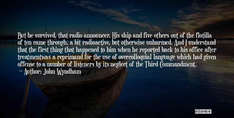 John Wyndham Quotes 1185489