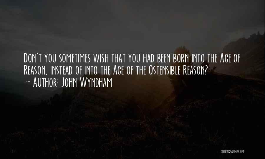 John Wyndham Quotes 1275893