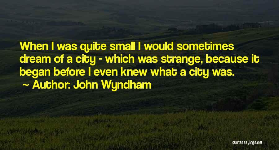 John Wyndham Quotes 1462212