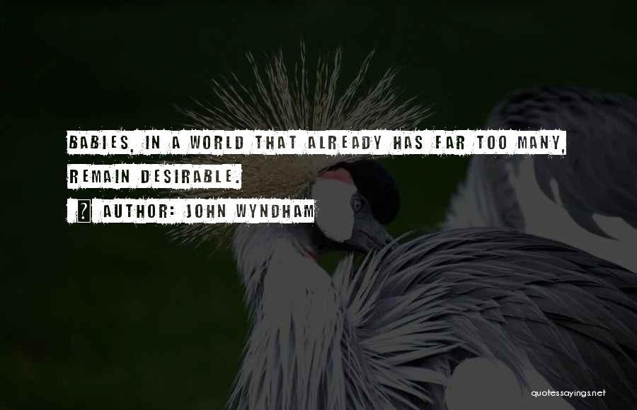 John Wyndham Quotes 1537963