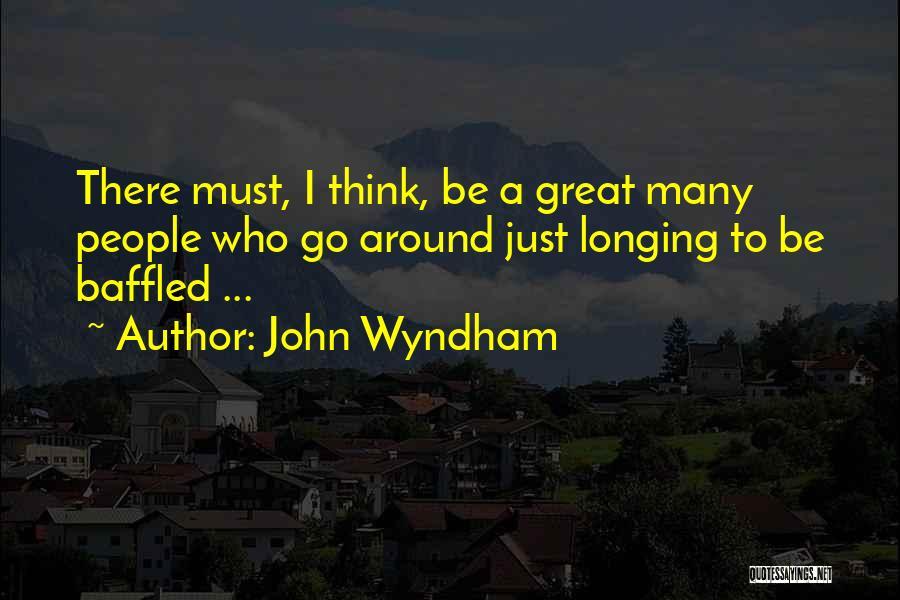 John Wyndham Quotes 1653314