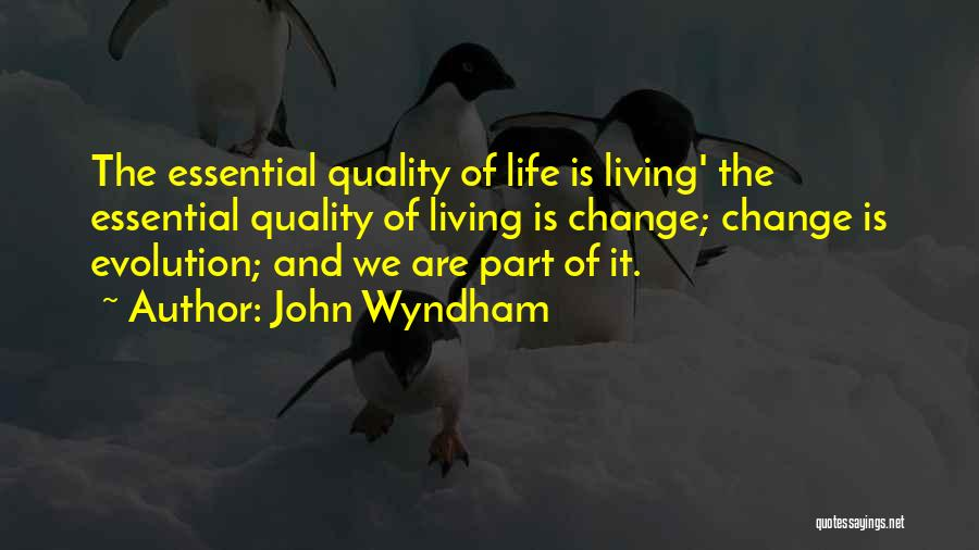 John Wyndham Quotes 1818018