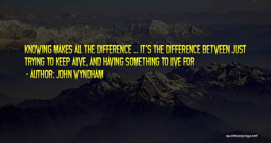 John Wyndham Quotes 1847370