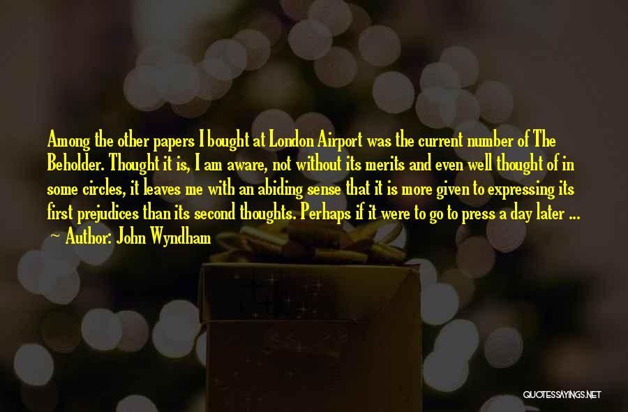 John Wyndham Quotes 1949004
