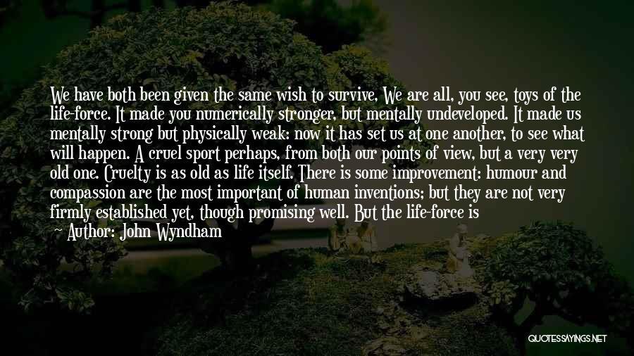 John Wyndham Quotes 1965565