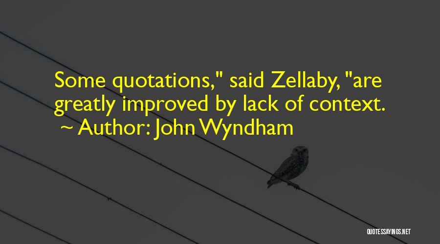 John Wyndham Quotes 261488