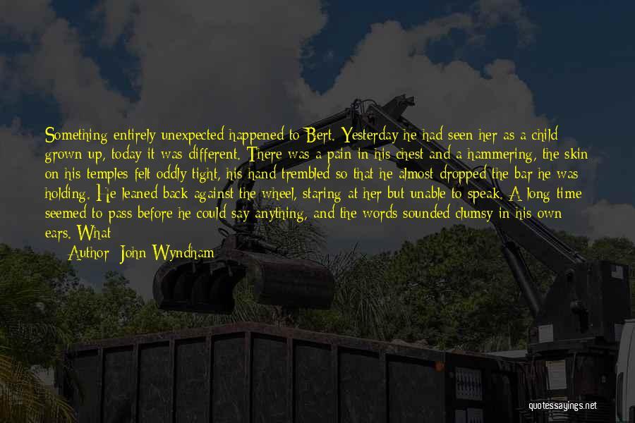 John Wyndham Quotes 299704