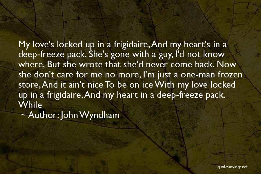 John Wyndham Quotes 354401