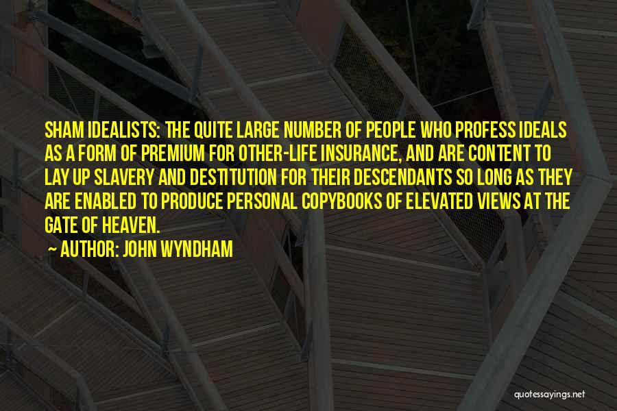 John Wyndham Quotes 442928