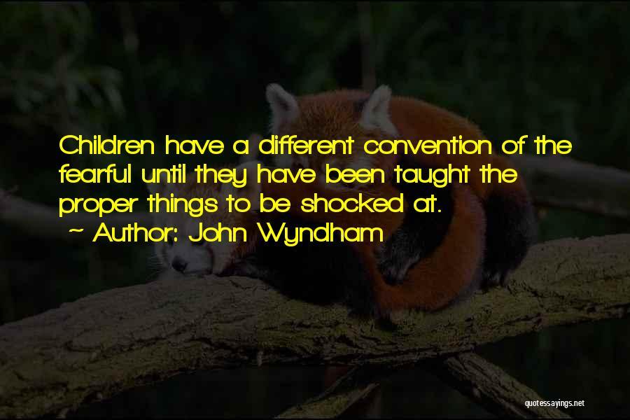 John Wyndham Quotes 655104
