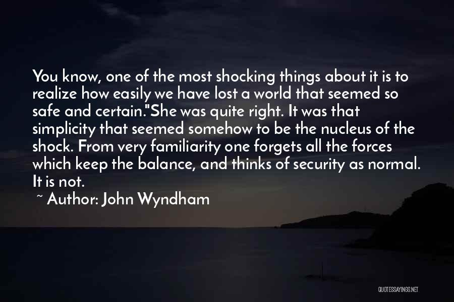 John Wyndham Quotes 744861