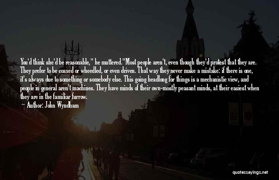 John Wyndham Quotes 921223