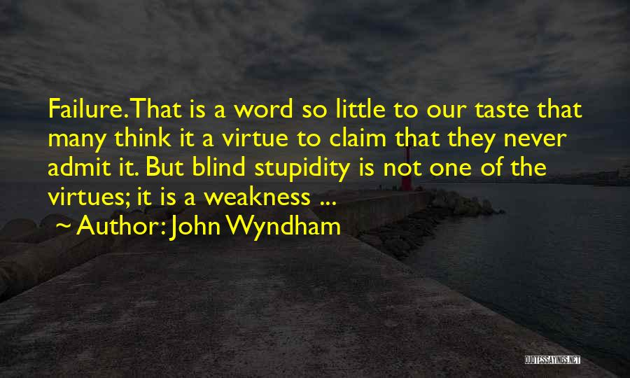 John Wyndham Quotes 984088