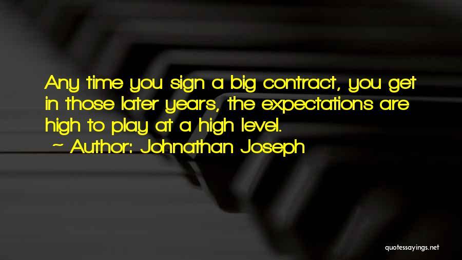 Johnathan Joseph Quotes 137093