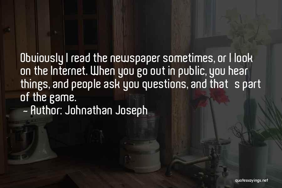 Johnathan Joseph Quotes 230226