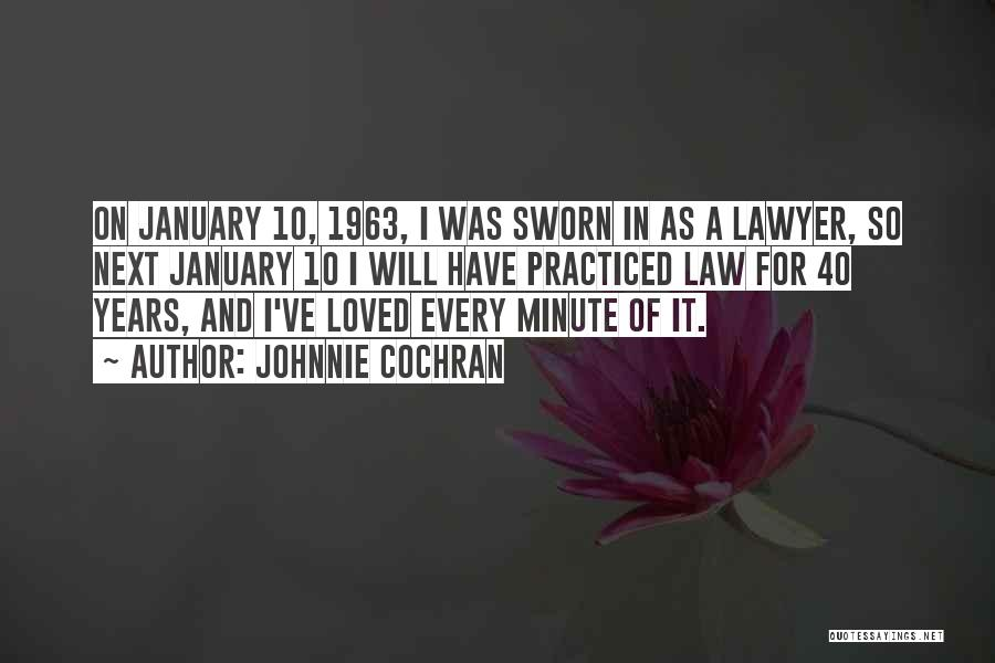 Johnnie Cochran Quotes 1762083