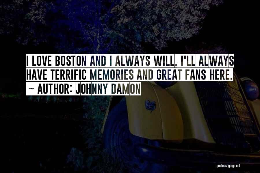 Johnny Damon Quotes 124898