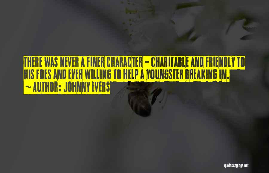 Johnny Evers Quotes 2112954