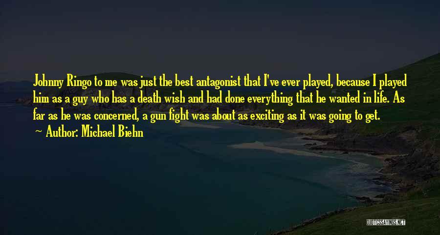Johnny Got His Gun Quotes By Michael Biehn
