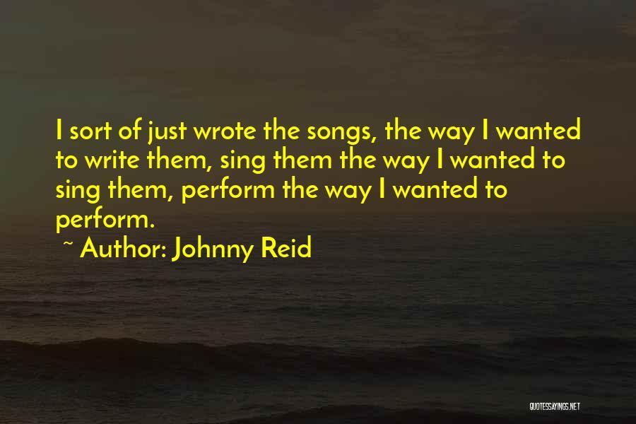 Johnny Reid Quotes 1336856