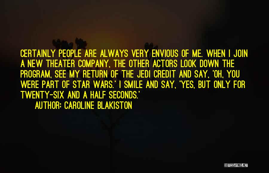 Join Me Star Wars Quotes By Caroline Blakiston
