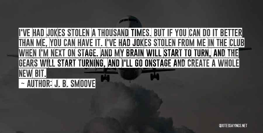 Jokes New Quotes By J. B. Smoove