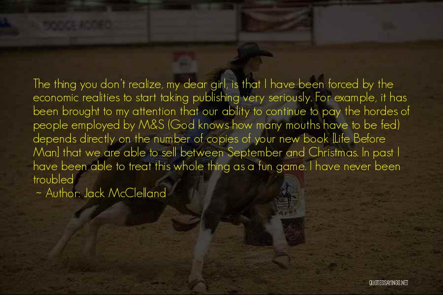 Jokes New Quotes By Jack McClelland