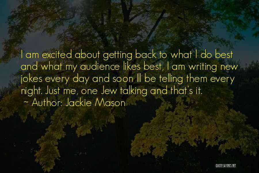 Jokes New Quotes By Jackie Mason
