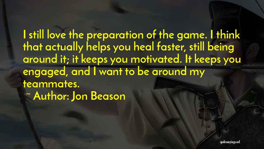 Jon Beason Quotes 1494979