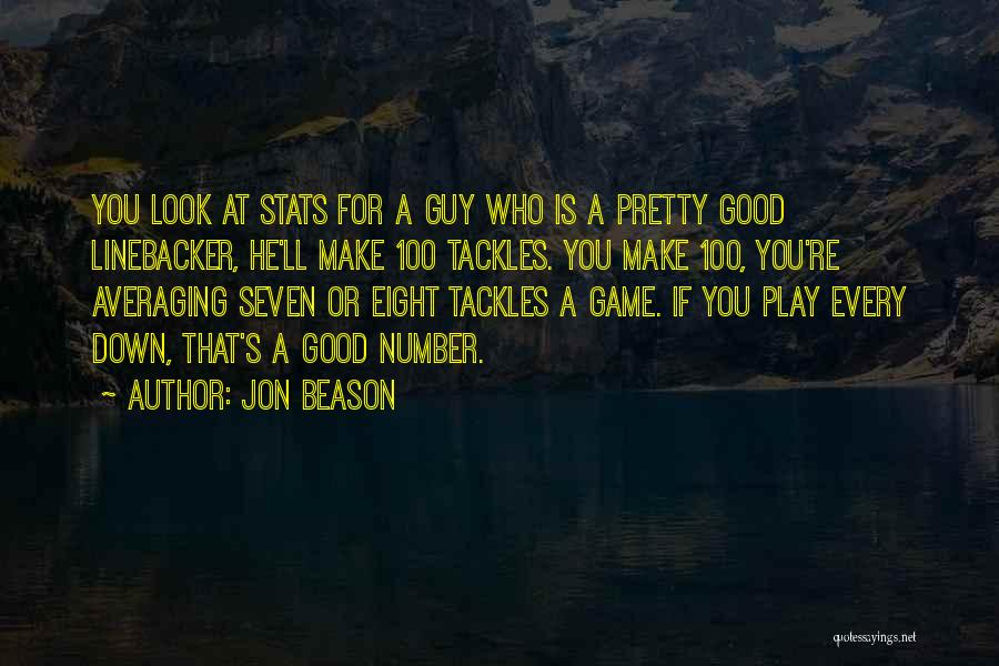 Jon Beason Quotes 1863577
