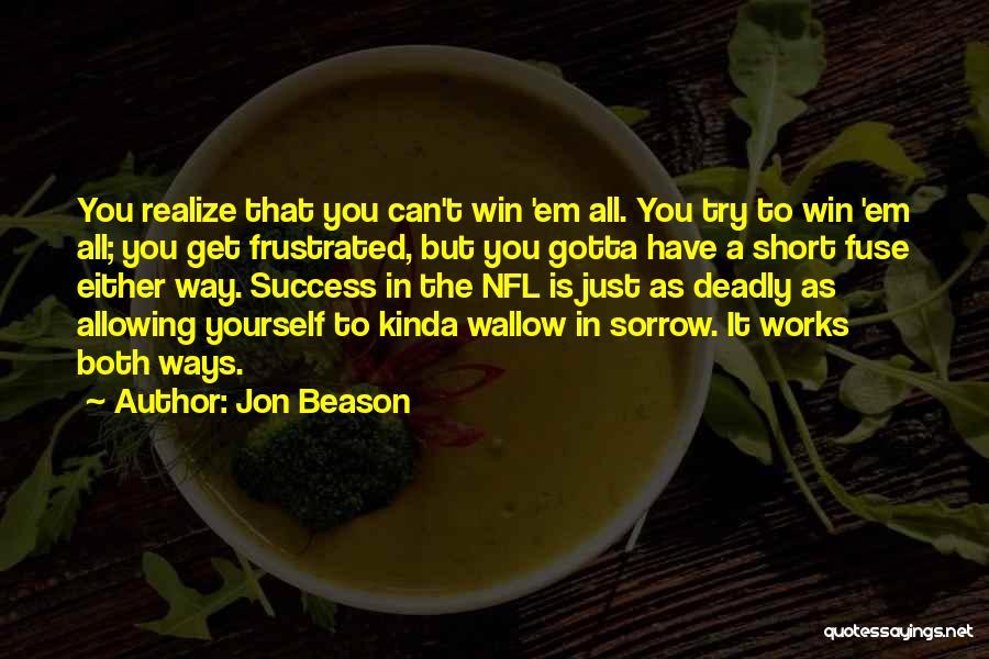 Jon Beason Quotes 416567