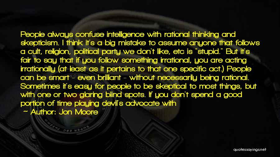 Jon Moore Quotes 161977