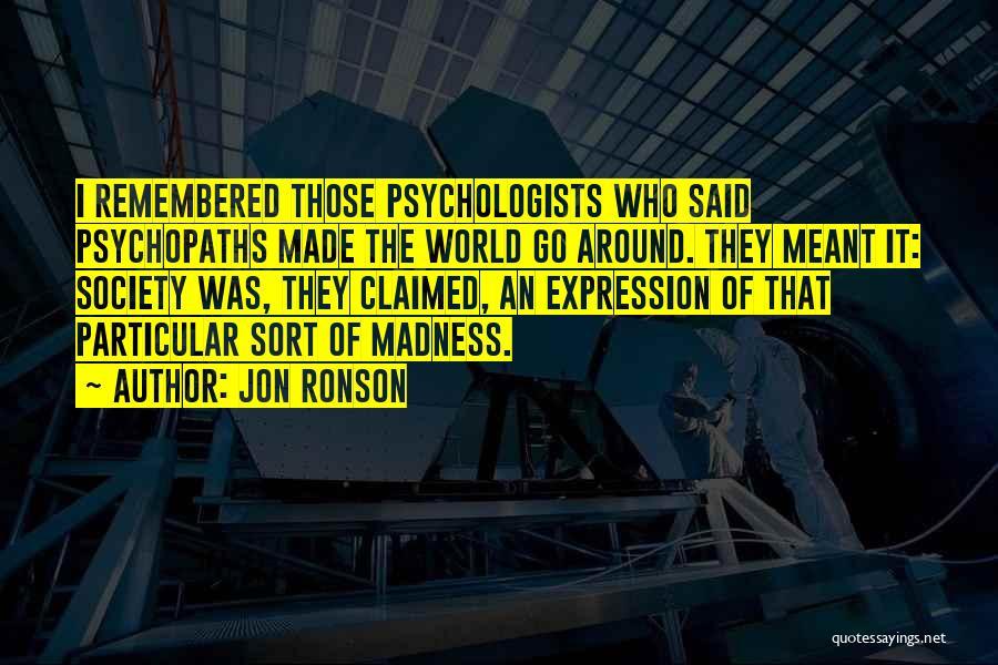 Jon Ronson Quotes 1494268