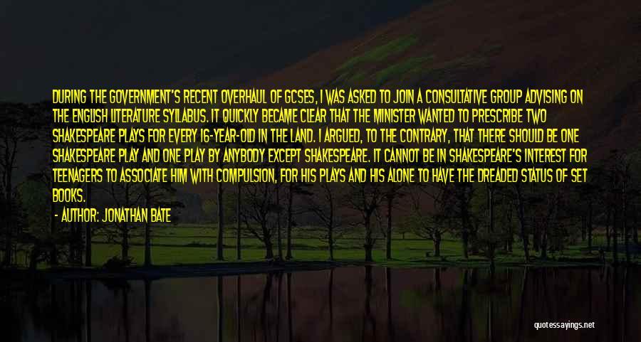 Jonathan Bate Quotes 1940603