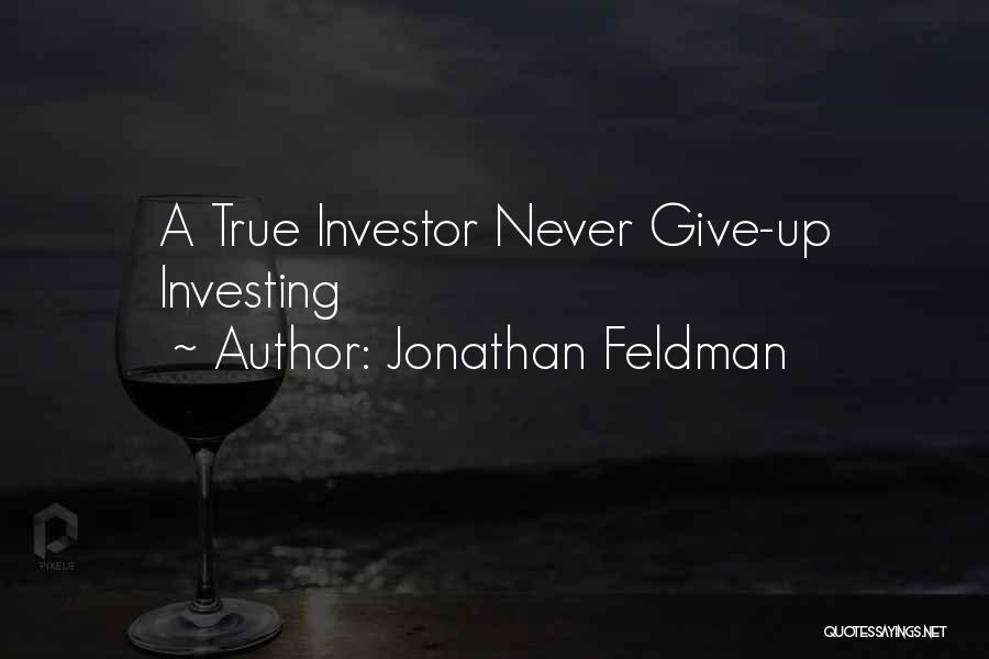 Jonathan Feldman Quotes 347732