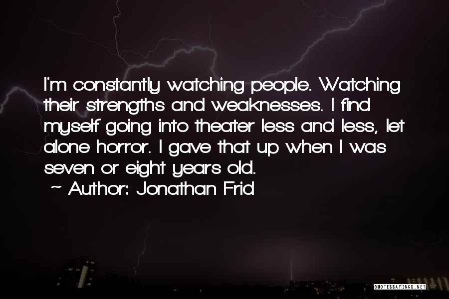 Jonathan Frid Quotes 140802