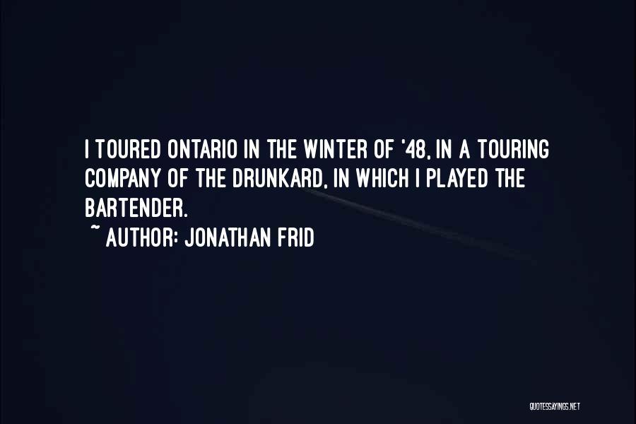 Jonathan Frid Quotes 449660