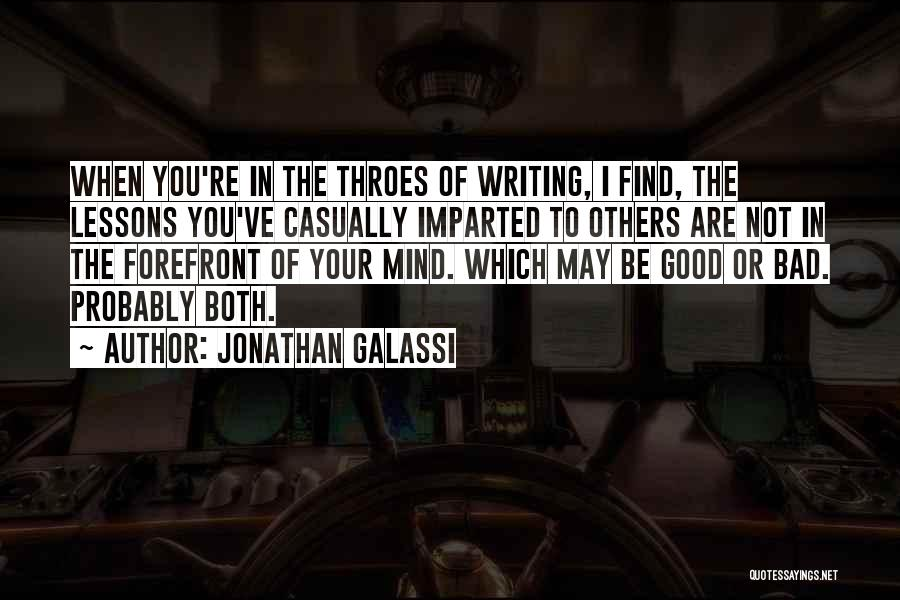 Jonathan Galassi Quotes 1019546