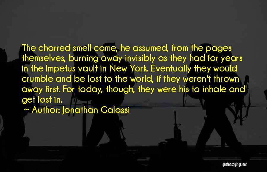 Jonathan Galassi Quotes 1028675