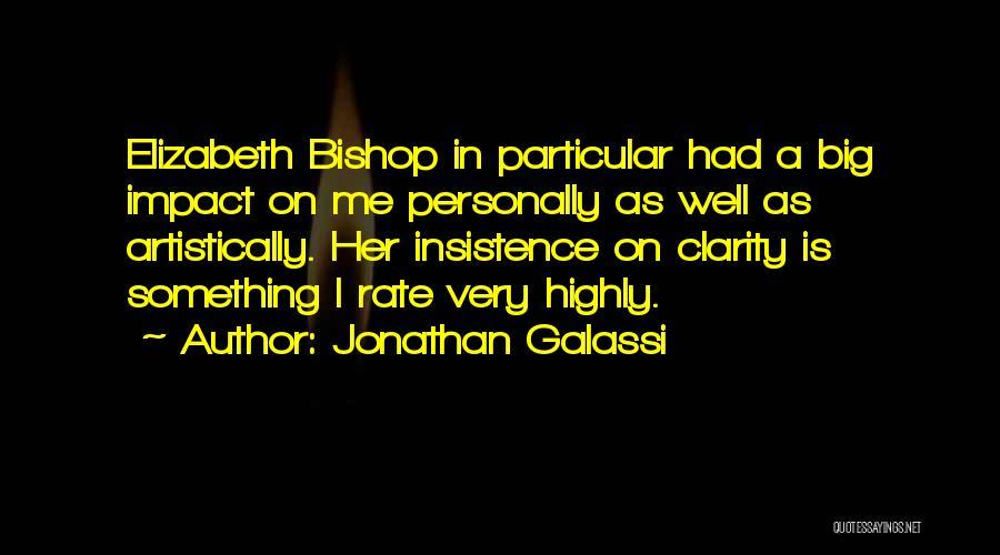Jonathan Galassi Quotes 1050757