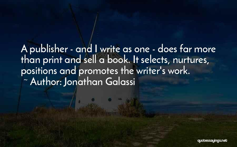 Jonathan Galassi Quotes 1274896
