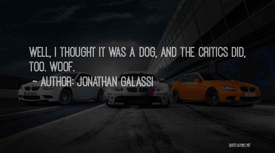 Jonathan Galassi Quotes 1681442