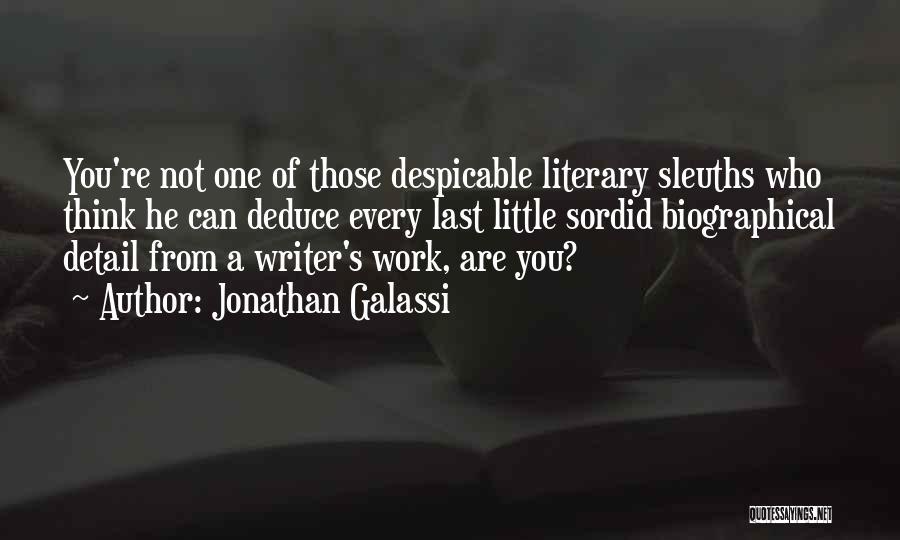 Jonathan Galassi Quotes 1732354