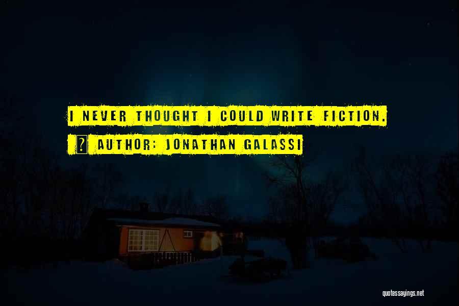 Jonathan Galassi Quotes 1754583
