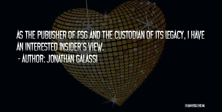 Jonathan Galassi Quotes 1759888