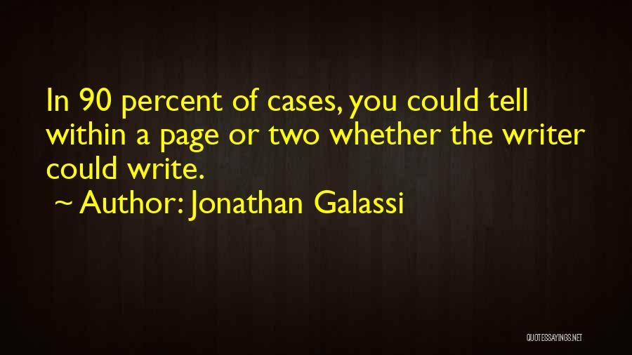 Jonathan Galassi Quotes 179027