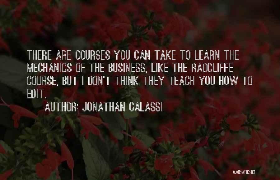Jonathan Galassi Quotes 1954676
