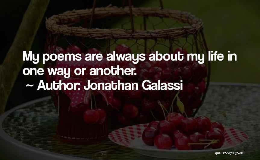 Jonathan Galassi Quotes 1983626