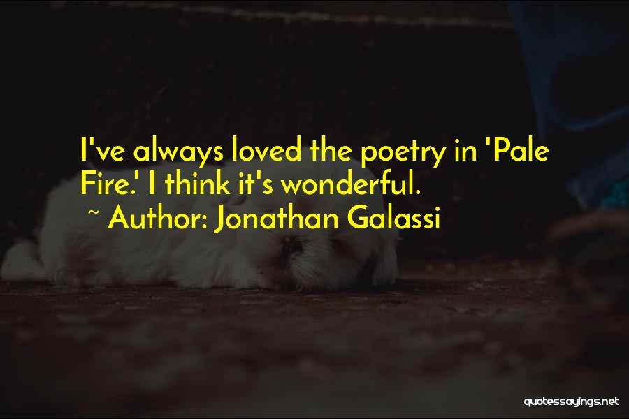 Jonathan Galassi Quotes 2066345